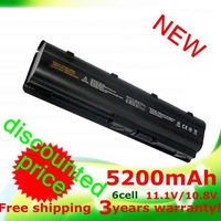5200MaH Battery for HP Pavilion DM4 DV3 DV5  DV6 DV7 G32 G42 G62 G56 G72 for COMPAQ Presario CQ32 CQ42 CQ56 CQ62 CQ630 CQ72 MU06