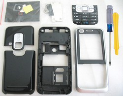 FULL HOUSING COVER CASE +KEYPAD TOOL FOR NOKIA 6120 6120C(China (Mainland))