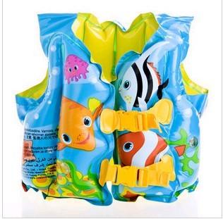 free  shipping Intex59661 child life vest swimming vest baby life vest inflatable swim vest