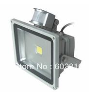 4PCS/lot Express Shipping  70W 50W 30W 20W 10W PIR Sensor LED Flood light  outdoor floodlights