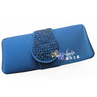 Free shipping, Elegant iber women's quality rhinestones banquet bag, evening bag, day clutch evening bag, !