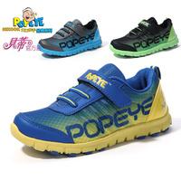 Children shoes boys light shoes 2013 spring net fabric children shoes child soft breathable sport shoes outsole