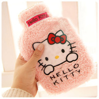 Hellokitty cartoon plush set rubber water hot water bottle water hot water hand po