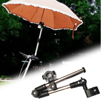 Bicycle Bike Wheelchair Stroller Chair Umbrella Connector Holder Mount Stand DB191 Free Shipping