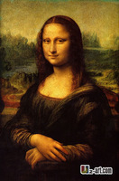 Canvas Prints by Da Vinci Mona Lisa giclee prints on canvas famour oil painting reproduction 10-rw-1 (143)