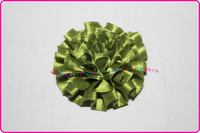 Детский аксессуар для волос ribbon rose flowers 2013 ribbon artificial flower hair accessories decorative accessories flower100pcs/lot