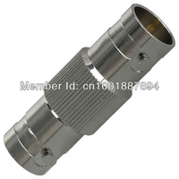 Free Shipping,500Pcs,Female Double BNC Connector For CCTV System