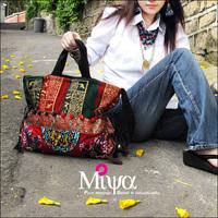 National Trend Embroidery Messenger bag Canvas Bag Brocade Handbags jimsonweed Bohemian Bag