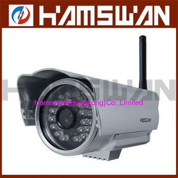 Free shipping Foscam IR-CUT Wireless IP Camera FI8904W Wide-Angle Night-Vision Smartphone-View