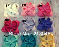 2013 New Arrival Multi Color Ribbon Handmade Bows with Clips,Infant Hair Bow,Toddler Hair Bow-You Choose Colors