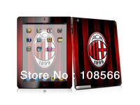 acmilan  sticker for ipad2 /  fans stickers  2 colour