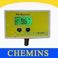 Digital pH Meter Temperature Tester Monitor Hydroponics Aquarium