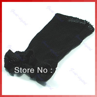 5Pcs/lot Black Hair Nets Wig Cap  Hairnets Stretchable breathable