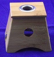 Single hole moxibustion box moxa box bamboo moxa box