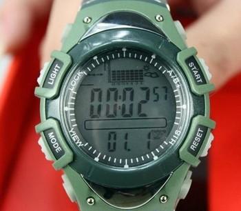 Free Shipping Digital Mini Fishing Barometer,30 Meters Waterproof Watch Fish Barometer