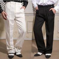 Shop suit pants bird style black white suit pants trousers