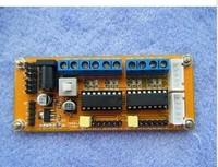 4 DC motor driver module / 4WD car motor driver module / L293D module Free Shipping 2PCS/LOT