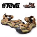 Men&#39;s outdoor sandals genuine leather sandals soft md outsole anti-odor sweat absorbing