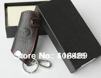 leather auto / car Key case ( key chain / key bag) for remote control, Fit for Mazda CX-5, CX-7, 6, 3 CX 5  bg