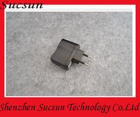 100pcs/lot EU plug USB charger