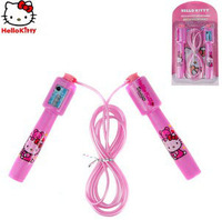 Cute Hello Kitty Jump Rope with Counter Skipping Rope for Kids
