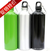 Outdoor sports bottle water bottle glass camping kettle hiking buckle 750ml ride water bottle at360009 outdoor survival kit item
