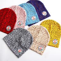 Tm11 spring and autumn winter hat pocket male female child baby 100% cotton baby hat child hat cartoon leopard print
