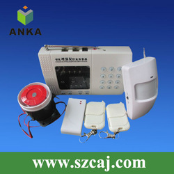 HOT! Home defense products wireless intelligent security alarm system(China (Mainland))