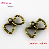 Wholesale/Supply Antique Bronze Plated Zinc Alloy Metal Bowtie Charms/Pendant Fashion Jewelry/Bracelet/Necklace DIY Accessory