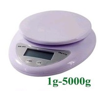 freeshipping Brand new 5000g/1g 5kg Food Diet Postal Kitchen Digital Scale scales balance weight weighting LED electronic 002#