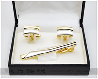 Shirt tie perfect fashion male tie clip cufflinks gift set 1212 - 32