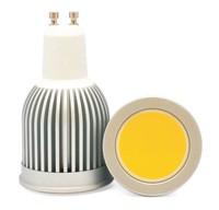 GU10 8W dimmable COB LED spot lights bulb 8W dimmable GU10 LED downlights bulb
