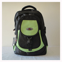 Stylish travel bag, Fashion backpacks,DKB-3641-F0036 green,material:fabric,Size:36x 41cm,2 different colors, Free shipping