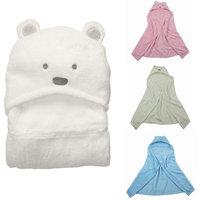 MINIZONE 2013 Hot Free shipping coral fleece newborn baby blanket boy&girl toddler cartoon bear sleeping bag autumn and winter