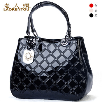 Big 2013 crocodile female cowhide female bags handbag diamond lattice bag good brand good quality new fashion female bag