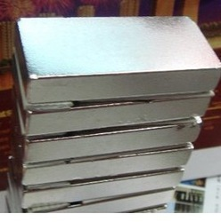 Wholesale 2PCs Cylindrical Silver Tone Super Strong Neodymium Disc Magnets 60*20*10mm(China (Mainland))