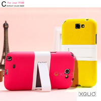 2013 new product Korea Verus Turquoise stand couple case for samung galaxy Note 2 N7100 Free shipping
