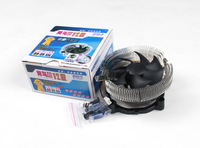 Bluephoenix three 3 computer cpu fan 775 amd 1155 1156 radiator fan mute