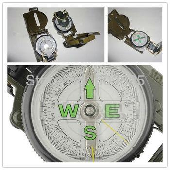US USGI Military DC45-2A-2B Triple Magnetic Tritium Stocker Camping Lensatic Compass Wholesale 144pcs