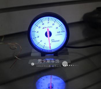 Free shipping for APEXI modified car dashboard / modification tachometer / oil temperature / pressure gauge / turbo Table