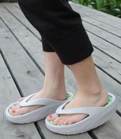 Female platform wedges shoes hole shoes swing shoes sandals flip flops slimming flower shoes