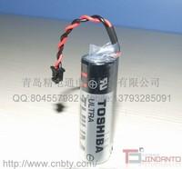 THE Toshiba PLC er6v 3.6 v lithium battery 2000 mah matching the original black plug quality goods