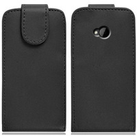 Leather Flip Case for HTC ONE M7,for HTC ONE Flip Case Cover,Free Shipping
