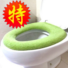 (Min order is $10) Queer e9212 thickening toilet set toilet seat toilet cushion cover (Random delivery)(China (Mainland))