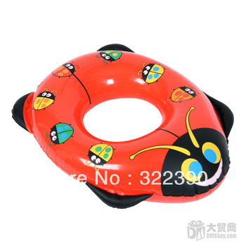 Inflatable toys inflatable ladybug inflatable swimming ring animal swim ring summer Life Buoy