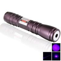 2000mW 405nm Waterproof Adjust Focus Violet Purple Blue Laser Pointer Pen . burnning smoke match Very easily