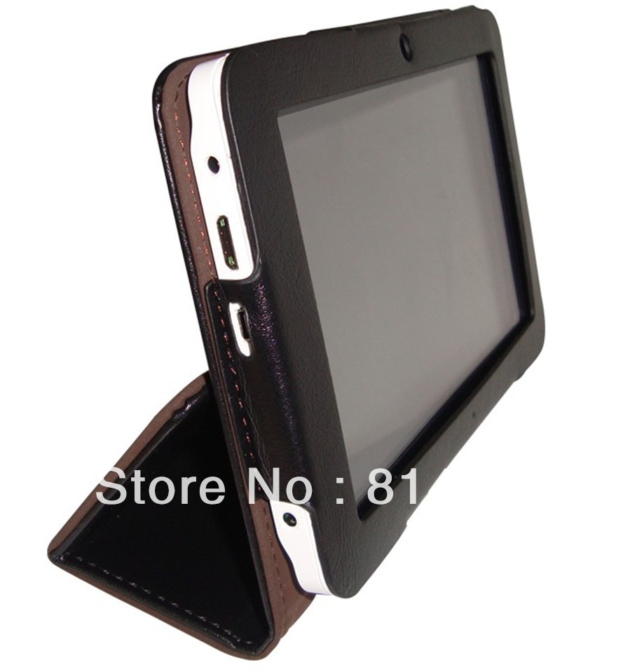 Free shipping NX5 Leather case for Ainol crystal/elf 7 Inch(China (Mainland))