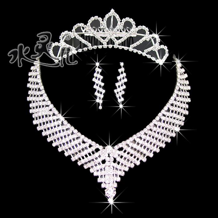 2015 new bride popular accessories piece set marriage accessories bridal accessories wedding dress jewelry 42
