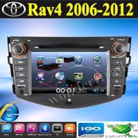 "7"" Car DVD Player With GPS Navigation For Toyota RAV4  RAV 4  + 3G internet access  2006 2007 2008 2009 2010 2011 2012"