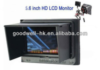 Free Shipping 5.6'' On-Camera Field Portable HD Monitor with HDMI input/output & 5D II Camera Mode